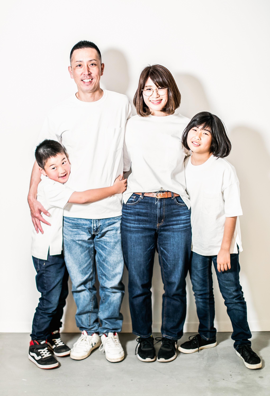 家族写真 茨城